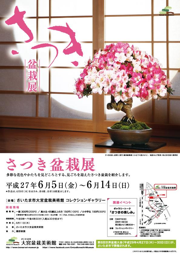 Satsuki (Rhododendron indicum) Exhibition