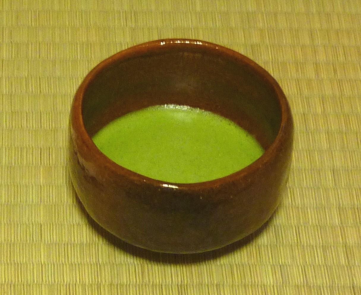 Tea ceremony in The Omiya Bonsai Art Museum