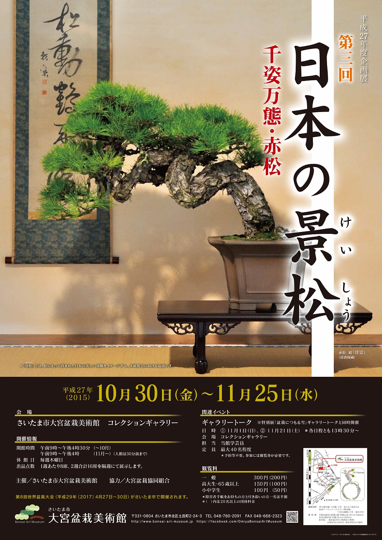 第3回 日本の景松(けいしょう)―千姿万態・赤松