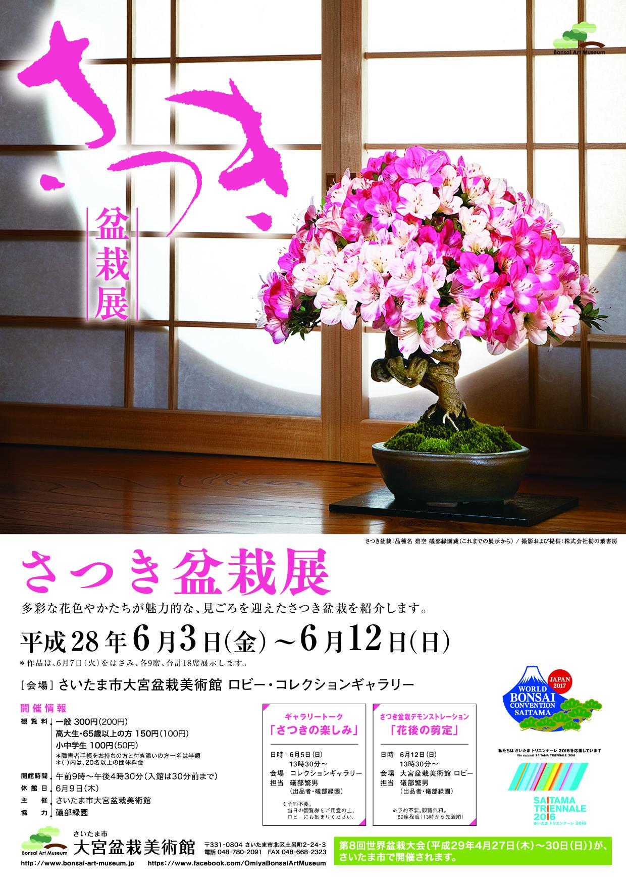 Satsuki (Azalea) Bonsai Exhibition