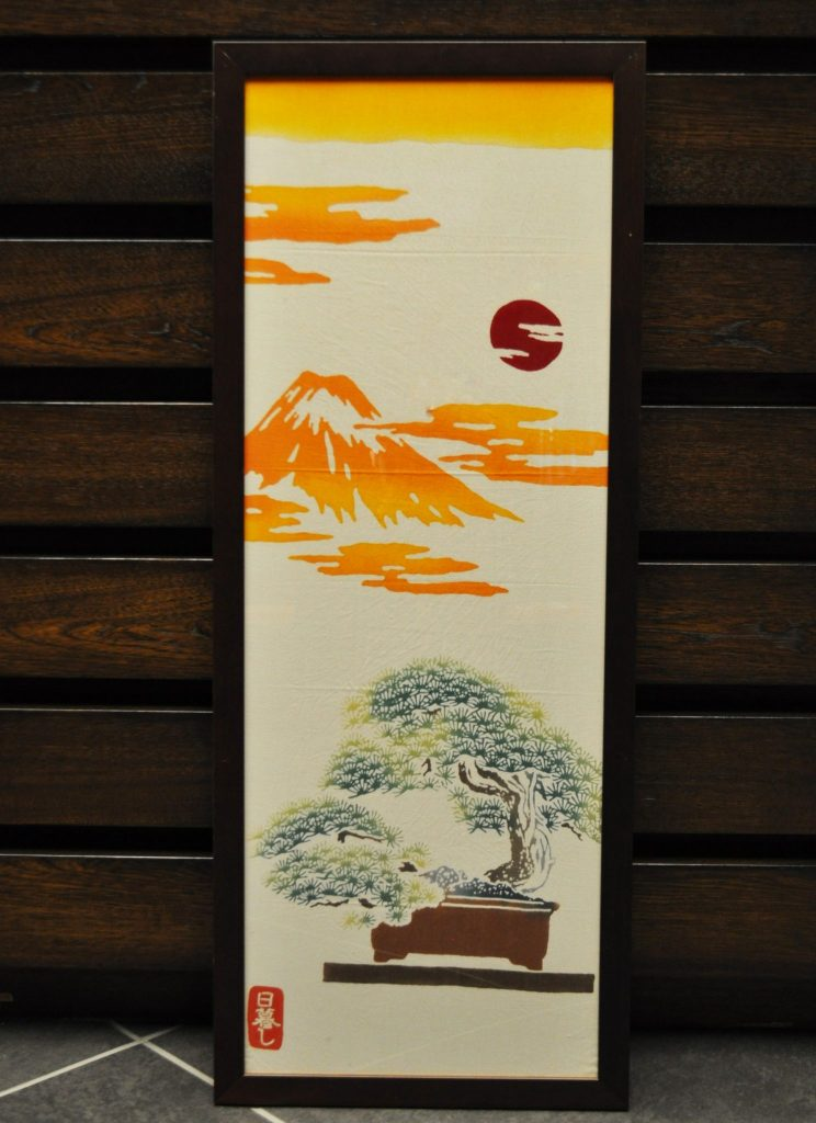 "All purpose hand towel/""Higurashi"" (a Kamawanu Collaborative item)"