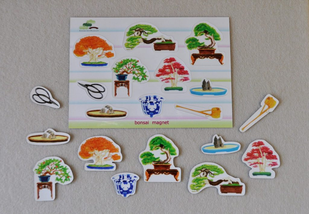 Bonsai magnet sheet