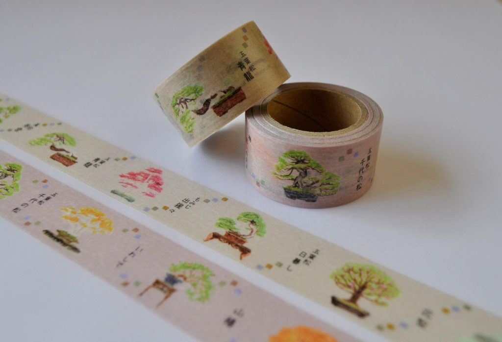 Bonsai masking tape