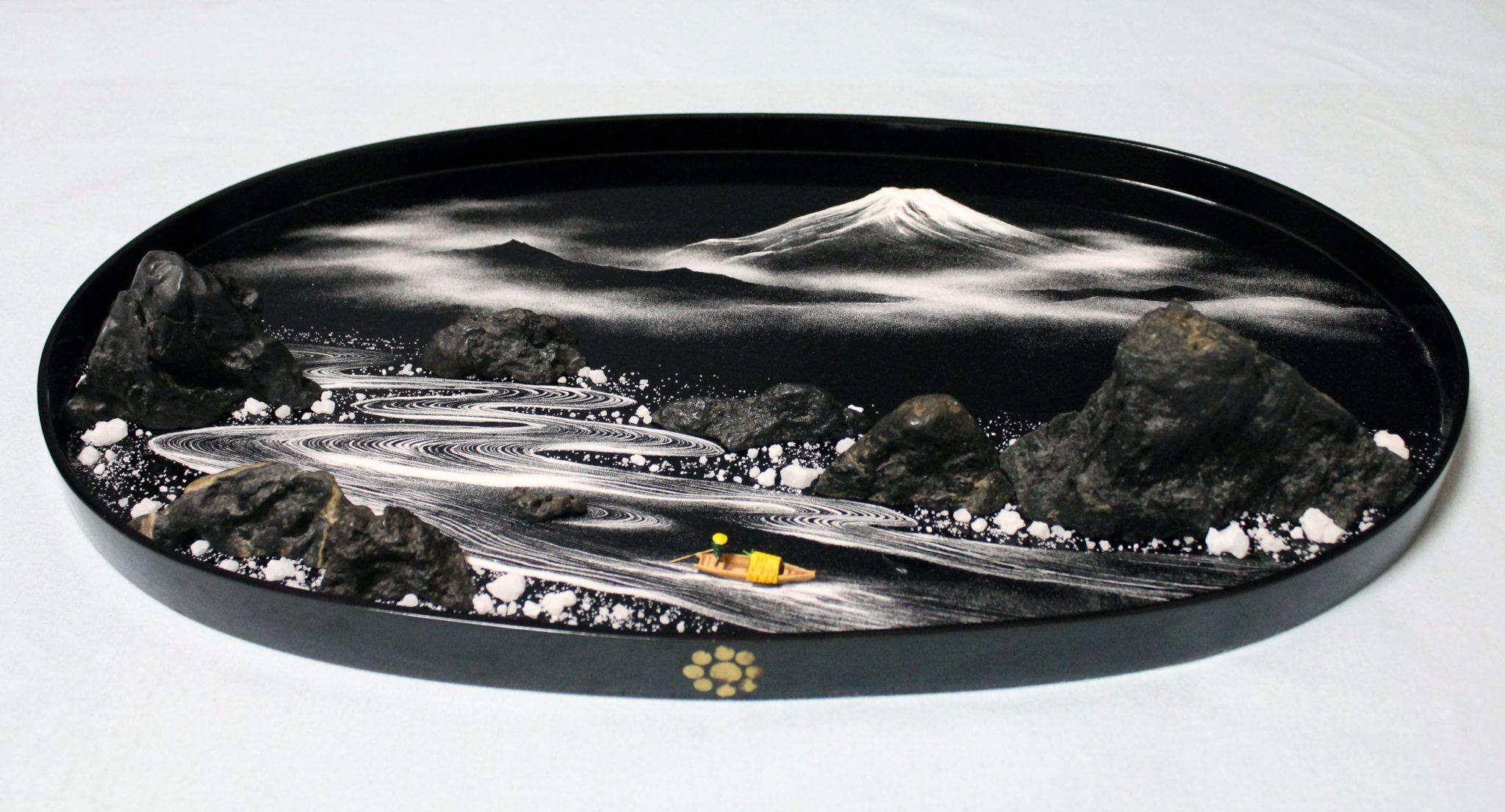 企画展「彩の十二景―『盆石』の旅」