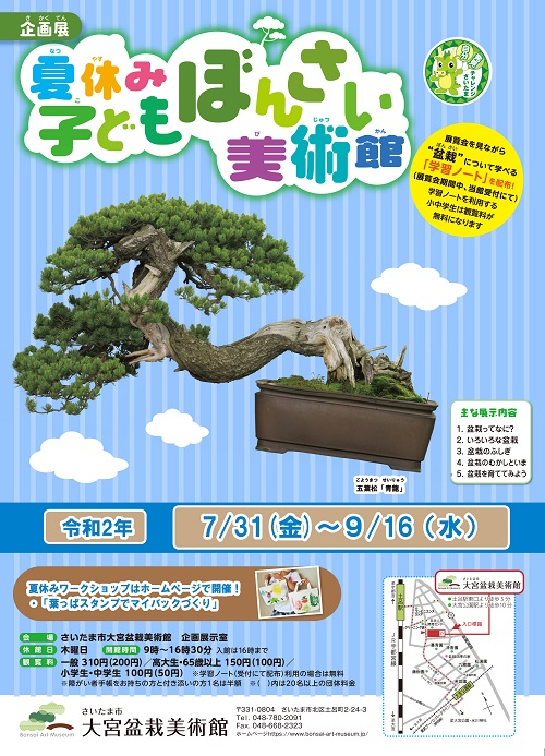 Bonsai Cultural Exhibition for Kids